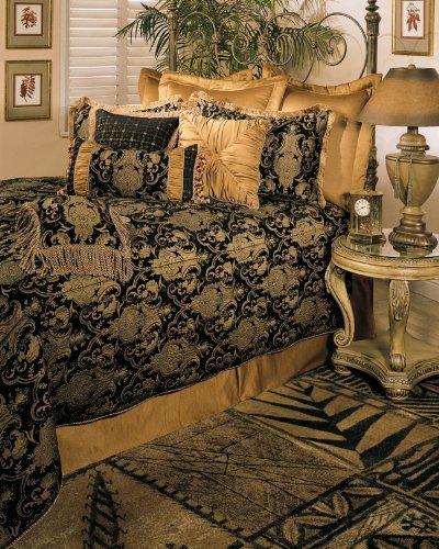 Sherry Kline China Art BLACK 6-piece King Comforter Set