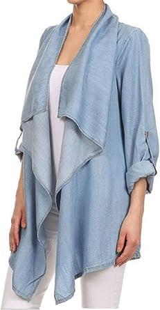 Camisetas Mujer Blusas Chaqueta de punto Cmisetas Con ...