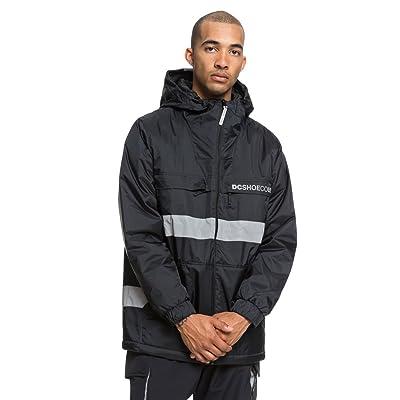 DC Men's Banbury Water Resistant Anorak Windbreaker Jacket: Clothing