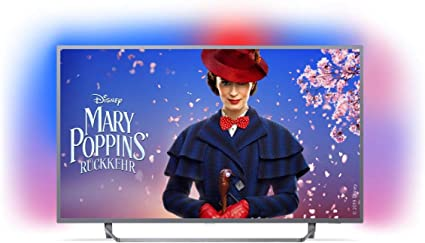 Philips Ambilight 55PUS730312 Fernseher 139 cm (55 Zoll) LED Smart TV (4K UHD, HDR Plus, Micro Dimming Pro, Android TV, Google Assistant)