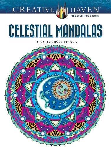 Creative Haven Celestial Mandalas Coloring Book (Adult Coloring)