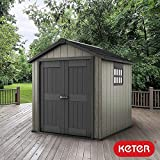 Keter Oakland 7 Ft 6 Quot X 7 Ft 2 3 X 2 2 M Shed Amazon Co