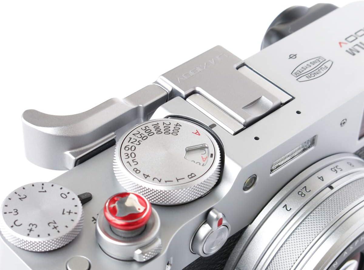 Lensmate Thumb Grip for Fujifilm X100V Silver
