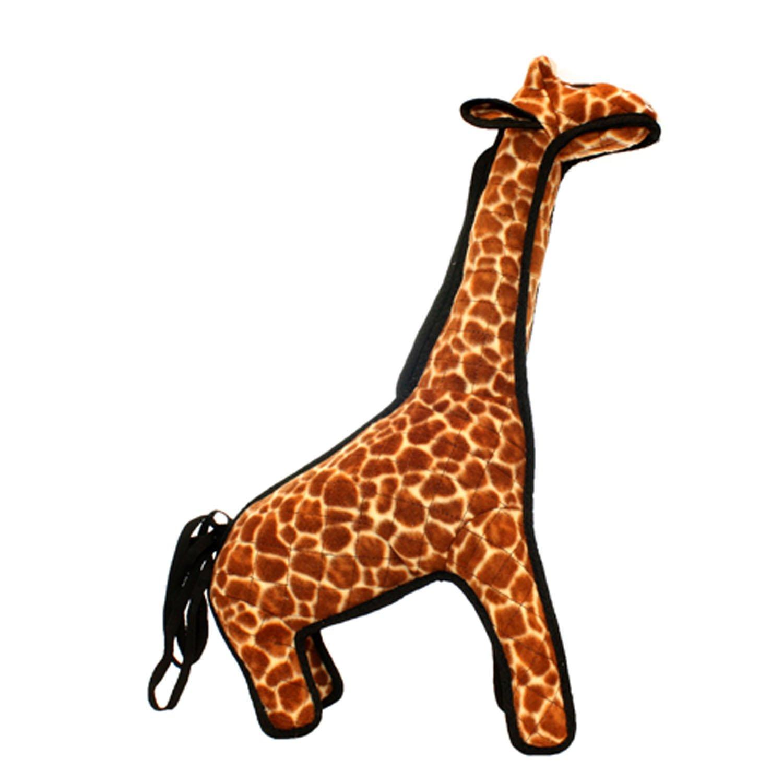 TUFFY Zoo Animal Giraffe, Durable Dog Toy, Large by TUFFY