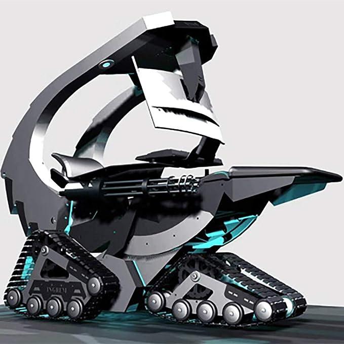 XUE Gatling Crawler Computerstuhl, Gaming-Stuhl, Chefsessel, E-Sport-Stuhl, kann Spiele und Filme gleichzeitig anschauen, geeignet für alle wichtigen Spielhallen, Büros und Zuhause