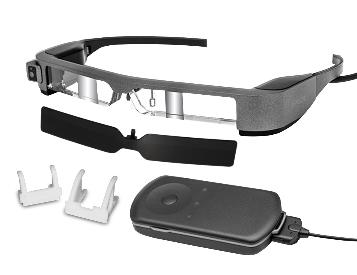 Epson Moverio BT-300FPV Smart Glasses for DJI Drones (FPV/Drone Edition)
