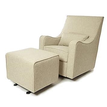 The NEW Hush Hush 360 Swivel Glider/Rocking Nursing Chair (in Cream) U2013