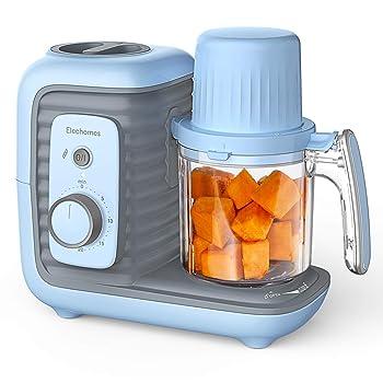 Elechomes 8 in 1 Blue Blender For Baby Food