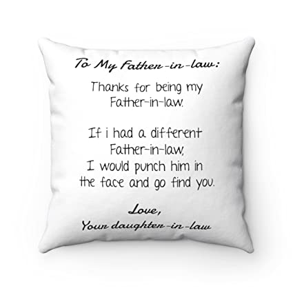 Thanks For Being My Dad Funny Pillowcase