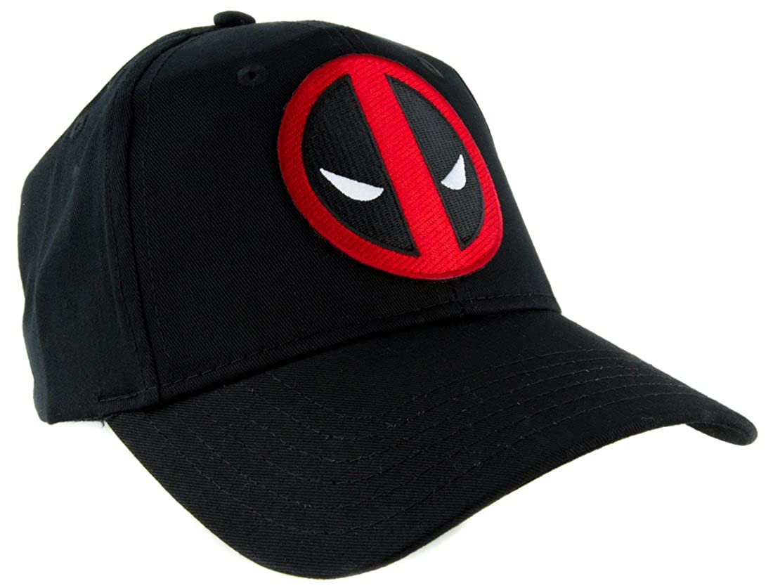 online store 43417 dc7af Amazon.com  Deadpool Icon Logo Hat Baseball Cap Alternative Clothing Super  Hero X-Men  Clothing