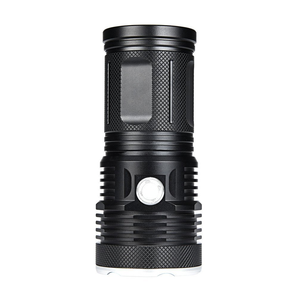 WindFire New Ultra Bright 16 LED Handheld Searchlight, T6 LED Water Resistant Best High Lumen Tactical Flashlight with 3 Modes, Portable Self-Defense Spotlight Torch for Home Outdoor Camping, Hunting by WindFire (Image #4)