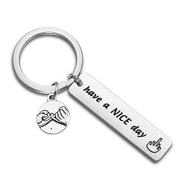 Amazon.com: Lywjyb - Llavero de regalo divertido para amigos ...