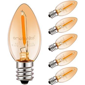Ge Lighting 26223 4 Watt Specialty C7 Incandescent Light
