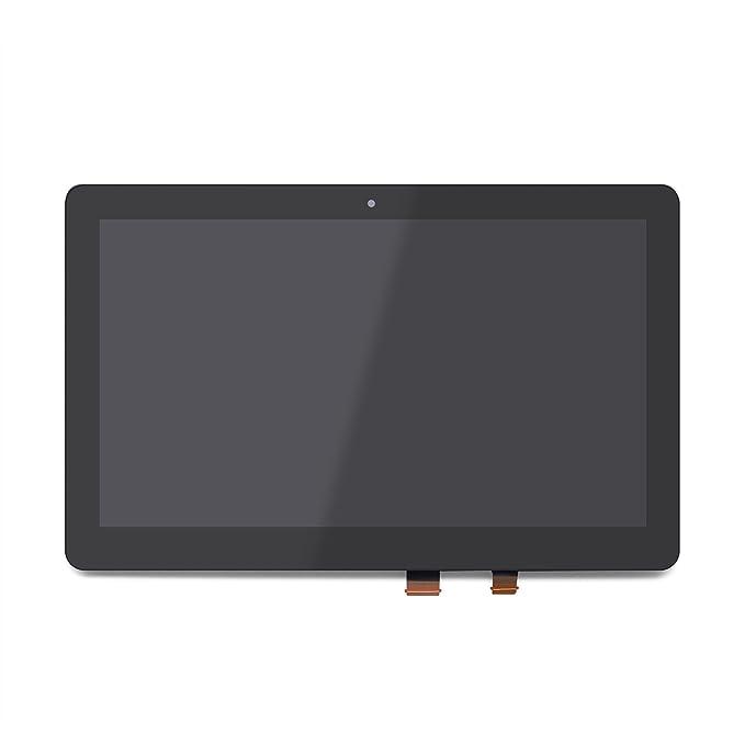 FTDLCD 11.6 LCD Pantanlla Táctil Digitalizador Reemplazo de Ordenador Portátil para ASUS Transformer Book Flip TP200S: Amazon.es: Electrónica