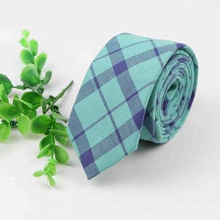 Gentle Corbata de algodón Corbata de Costura clásica a Rayas ...