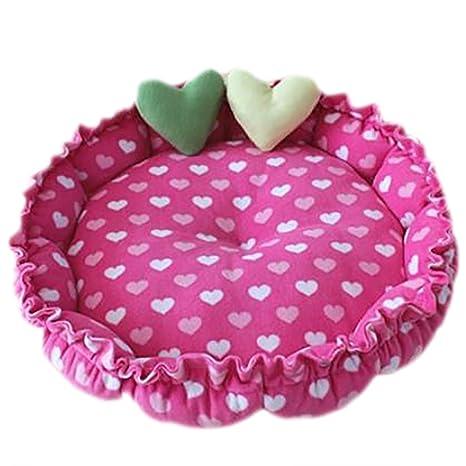 Cdet Cama para mascotas adorable mascota nido de animales suministros mascota waterloo basura Jaulas de fresas