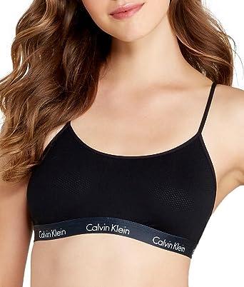Calvin Klein Mujer CK One Micro Sujetador: Amazon.es: Ropa y ...