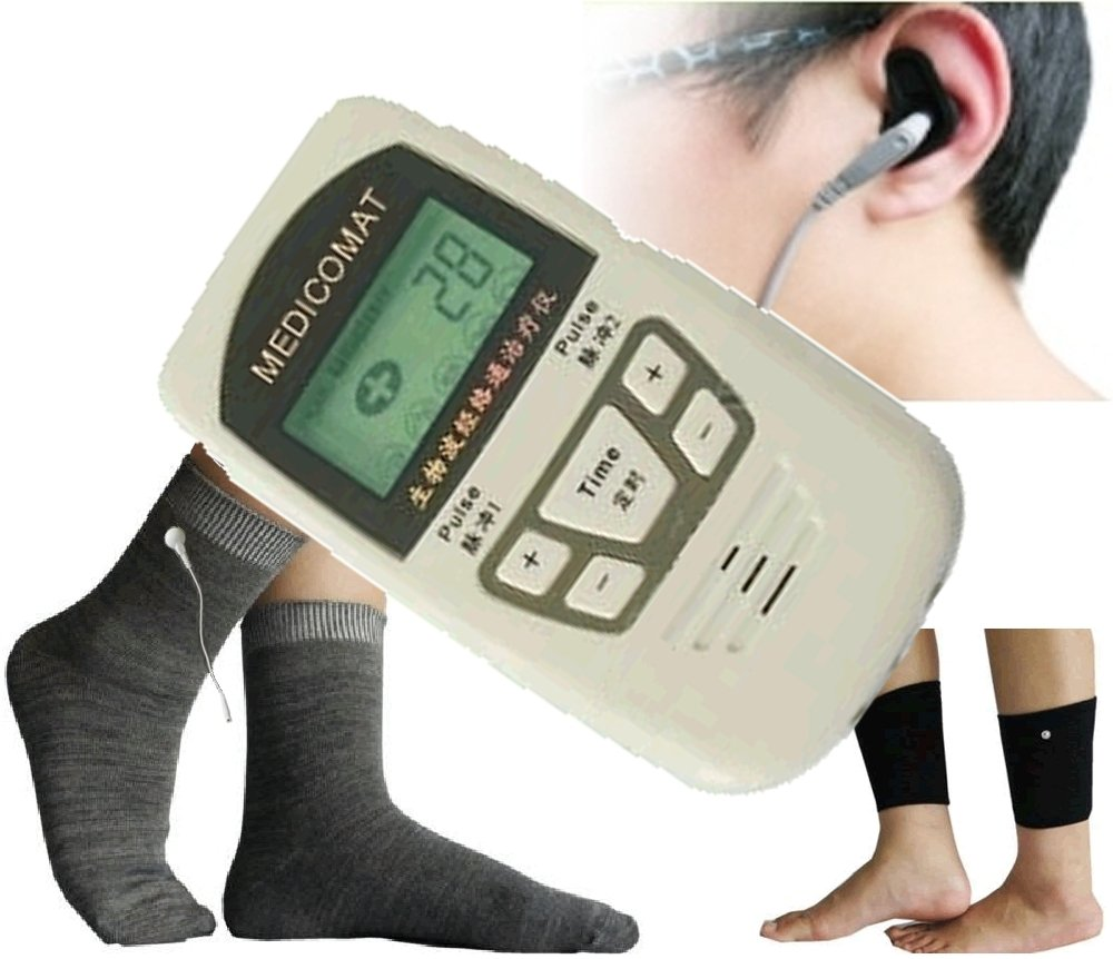 Foot and Ankle Pain Treatment Medicomat-10SJ Foot Pain Symptom Checker Chronic Ankle Sprain (L - Large Sock)