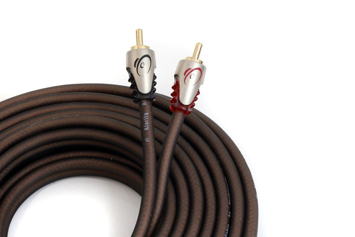 KnuKonceptz Klarity RCA Cable 2 Channel RCA Interconnect 16 Feet (5 Meter)
