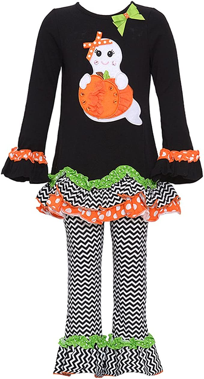 Rare Editions Baby Girl 2 piece Halloween Outfit New
