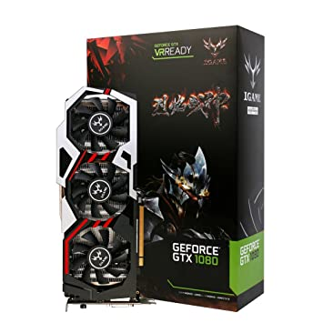 Colorful NVIDIA GeForce GTX iGame 1080 GPU 8 GB 256bit ...