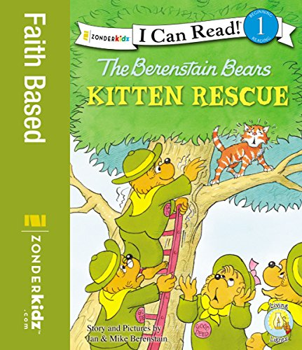 The Berenstain Bears' Kitten Rescue (I Can Read! / Berenstain Bears / Good Deed Scouts / Living Lights)