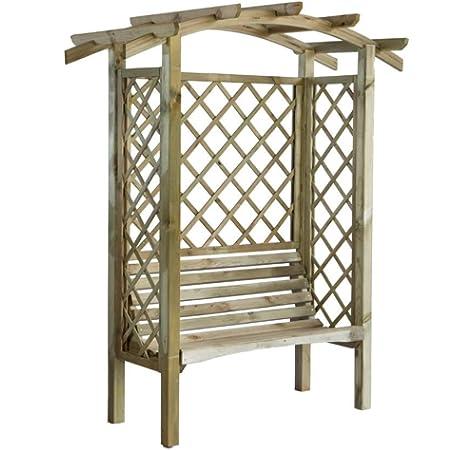 Blinky 7969610 - Pérgolas de madera, modelo banco-con-arco: Amazon.es: Bricolaje y herramientas