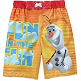 olaf Disney Frozen Boys Fun In The Sun Swim Trunks