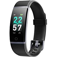 Letsfit Fitness Tracker, Activity Tracker Watch with Heart Rate Monitor, IP68 Waterproof Smart Watch with Step Counter…