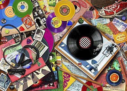 Posterazzi Viva La Vinyl (Variant 3) Poster Print by Aimee Stewart (36 x 24)