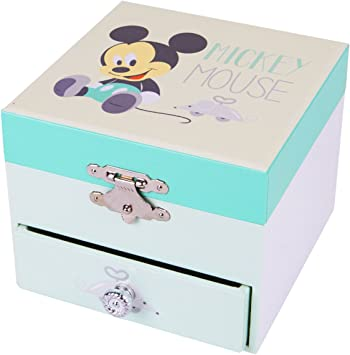Trousselier Caja de música 20200 - Disney Motivo de la Caja de música Mickey Serie de Cubos, Caja de música, Cajas de música: Amazon.es: Juguetes y juegos