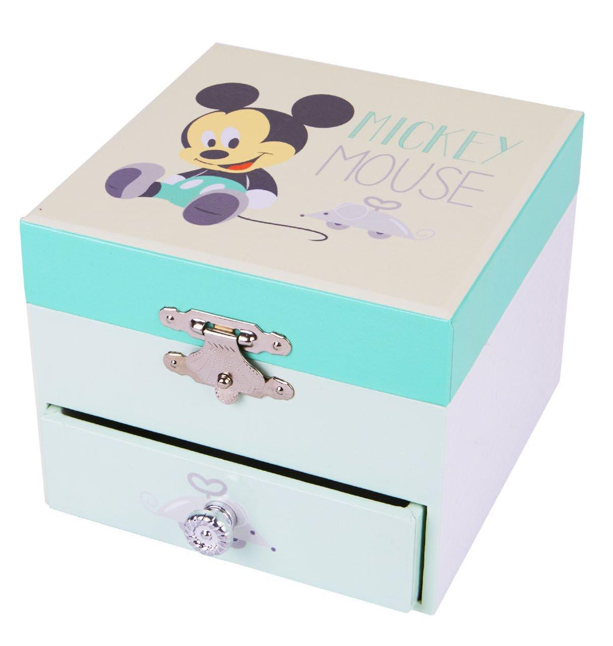 Trousselier - Mickey Baby - Disney - Petit Coffret Musical TROUS20200 Boîte à musique