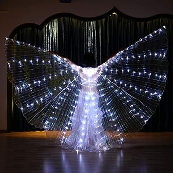 CPDZ Resplandor Luminoso LED alas Ligeras Accesorios de ...