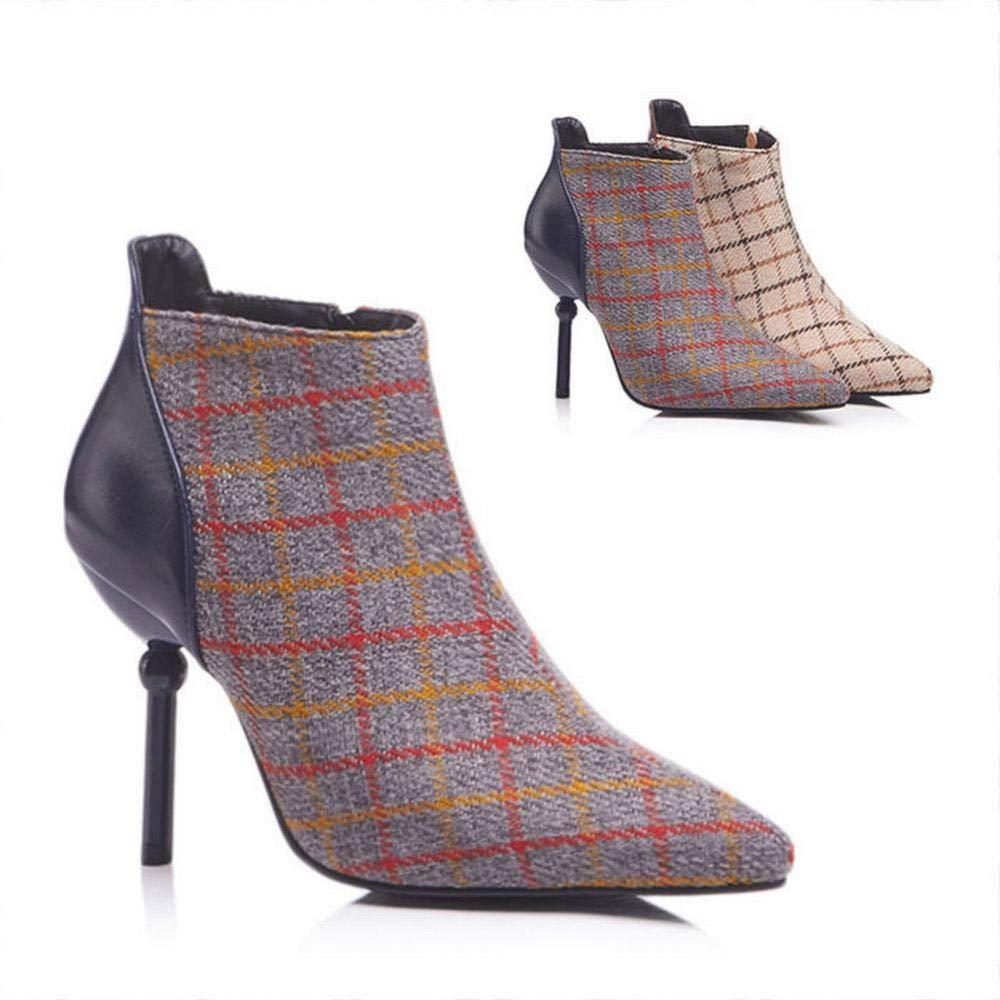 WSR Damenschuhe Damenschuhe Damenschuhe - High Heel Stiefel Stiletto Kurze Stiefel Martin Stiefel Große Damen Stiefel 34-43 9d344a