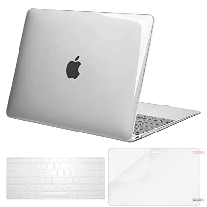 los angeles d1dc6 e08d6 2018/2017 / 2016 MacBook Pro 13 inch Case Cover, Loovbee Hard PC Smooth  Matte Frosted Shell with Silicone Soft Keyboard Skin HD Screen Protector  Film ...