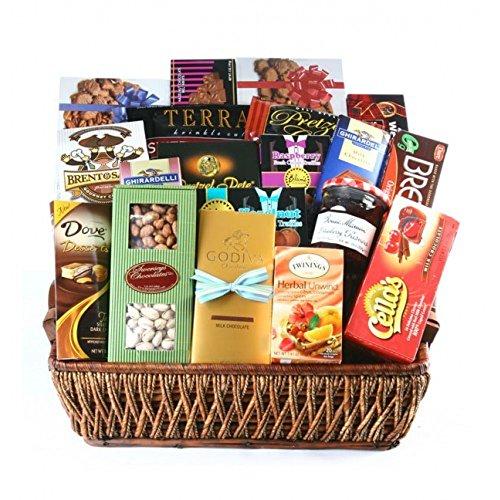 Kosherline Grand Gourmet Deluxe Sympathy Kosher Gift Basket