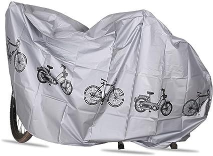 YUESEN Funda Bicicleta Exterior Impermeable - Cubierta Bicicleta ...
