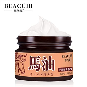BEACUIR Heel Deep Cracks Rough Foot Dry Hand Dead Skin Remove Cream  Softening Keratin Deep