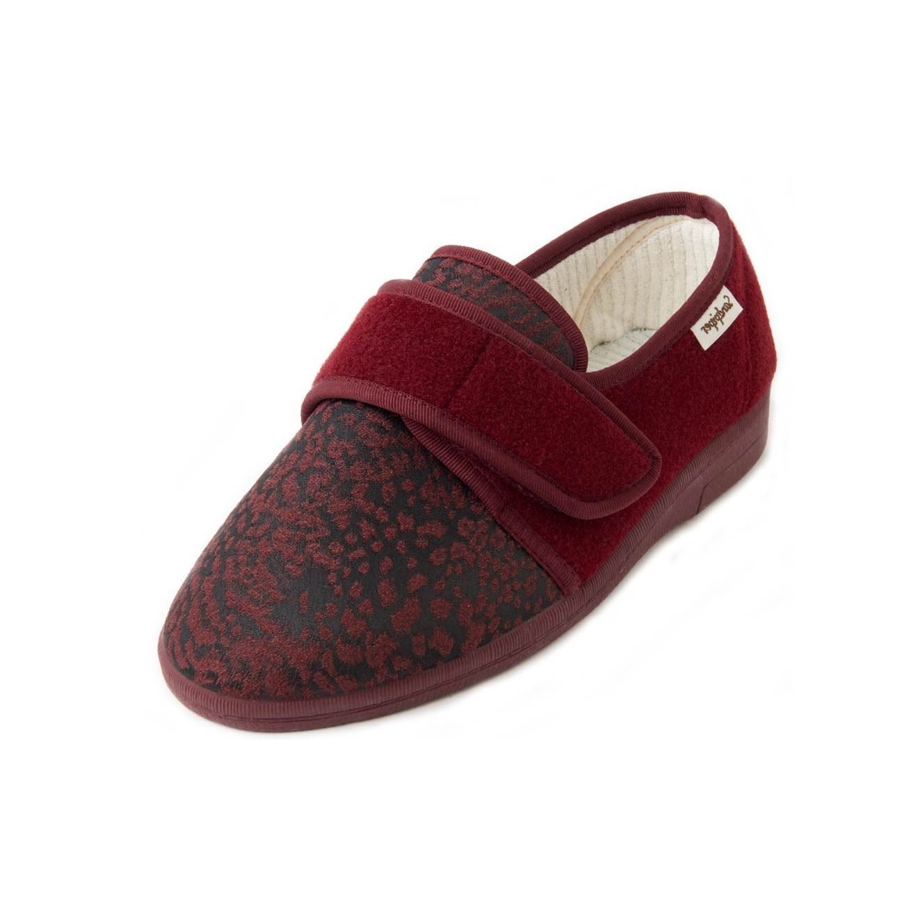 Sandpiper B01N0TBT3X , pour Chaussons pour femme Wine 19946 Print bb11b38 - latesttechnology.space