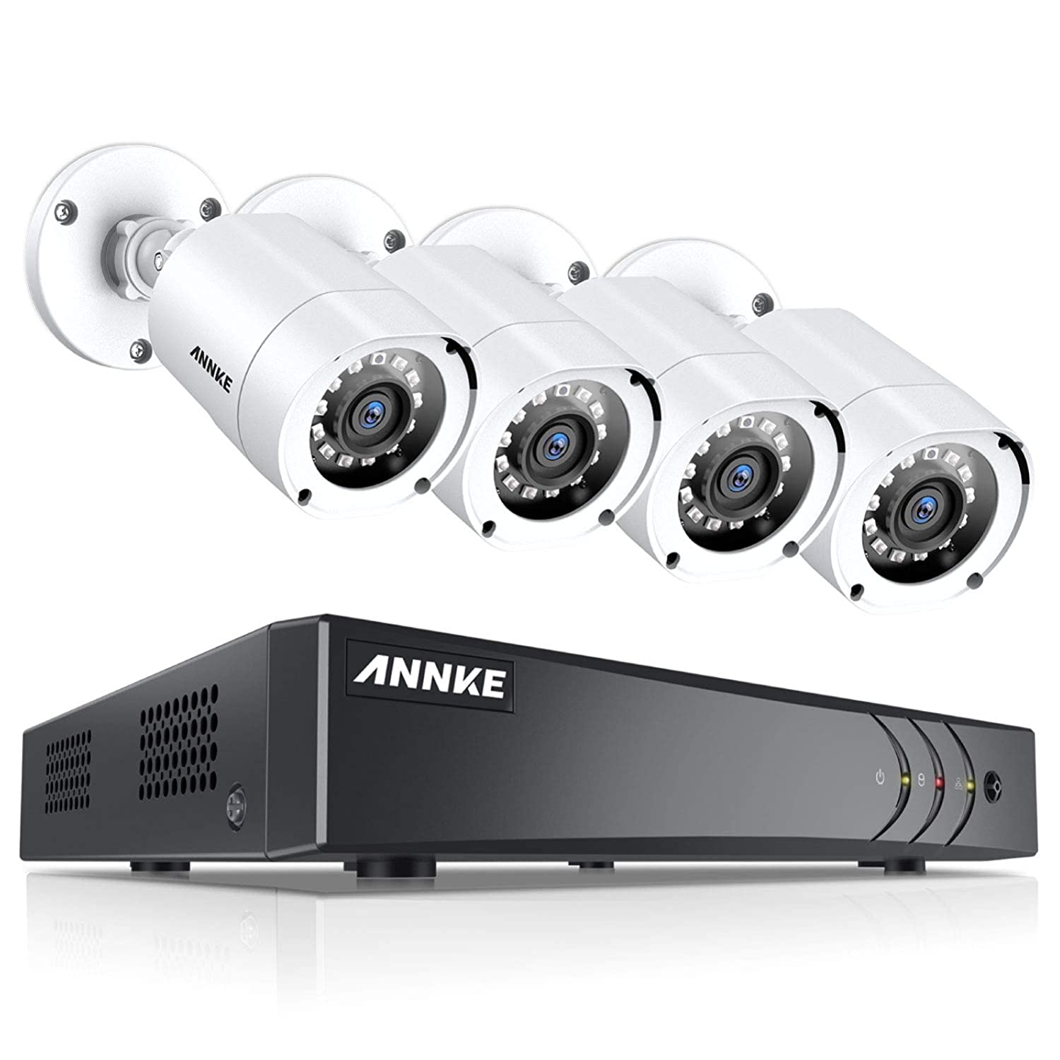 ANNKE 32CH 5in1 CCTV 1080P H.264 DVR Recorder for Security Camera System w// 1TB