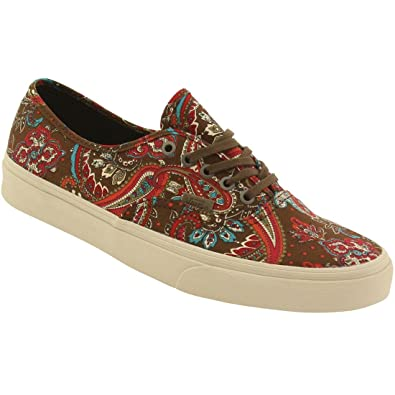 Vans Men Authentic California - Paisley (green / olive) Size 13 US