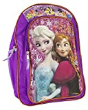 Fast Forward Disney Frozen Anna & Elsa Purple Backpack (Toy)