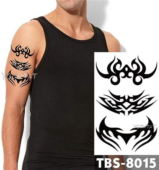 4 Piezas Tatuaje Temporal a Prueba de Agua águila Loto Mandala Ojo ...