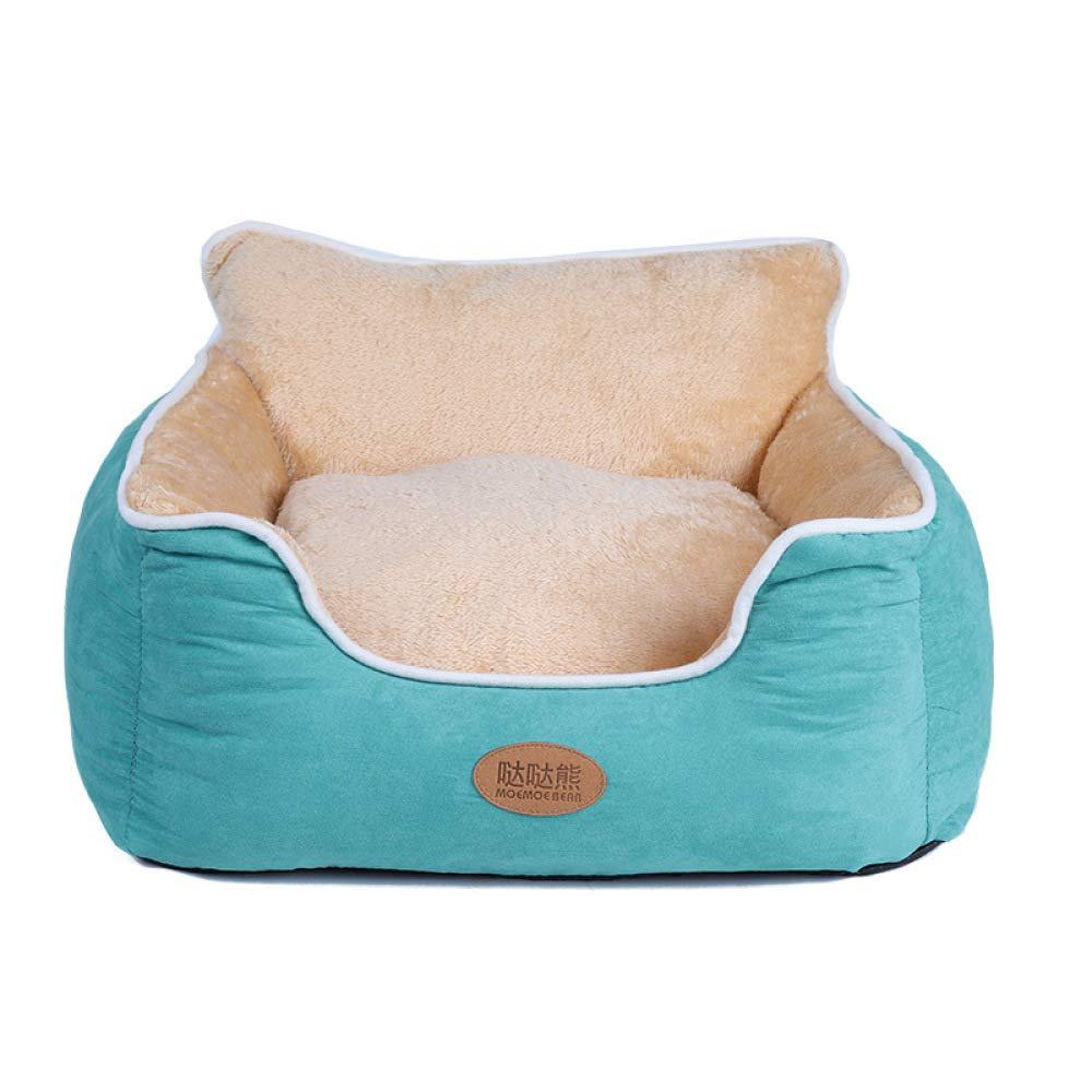 A XX-Large A XX-Large QJKai Pet nest winter warm plus velvet full wash back back kennel cat pet nest