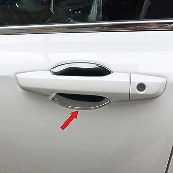 Chrome Door Handle Bowl Cup Cover Molding Trim For Honda CRV 2017-2019 Accessory