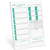 The positive store, Weekly and Daily Planner pad to Dominate Your Week, 28 X 21.7 cm, 100 Pages, 90 GSM Paper
