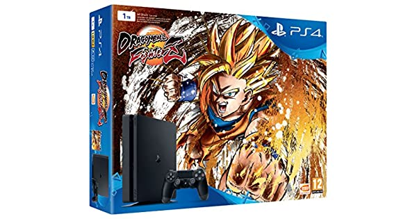 Playstation 4 (PS4) - Consola de 1TB + Dragon Ball FighterZ ...