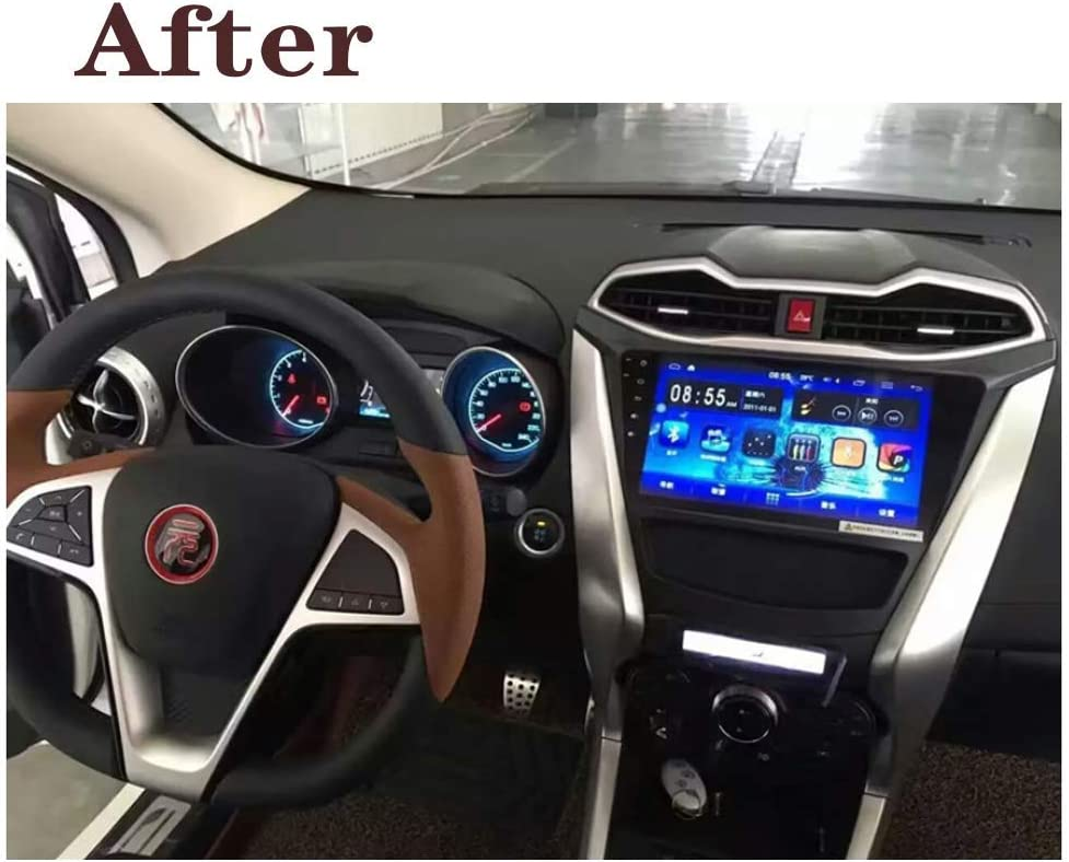 WiFi 2G+32G .Radio 2.5D Touch Screen Hahaiyu Car Radio Stereo 9 Inch Navigator Android 8.1 in Dash for BYD Yuan 2016 Bluetooth,Mirror Link