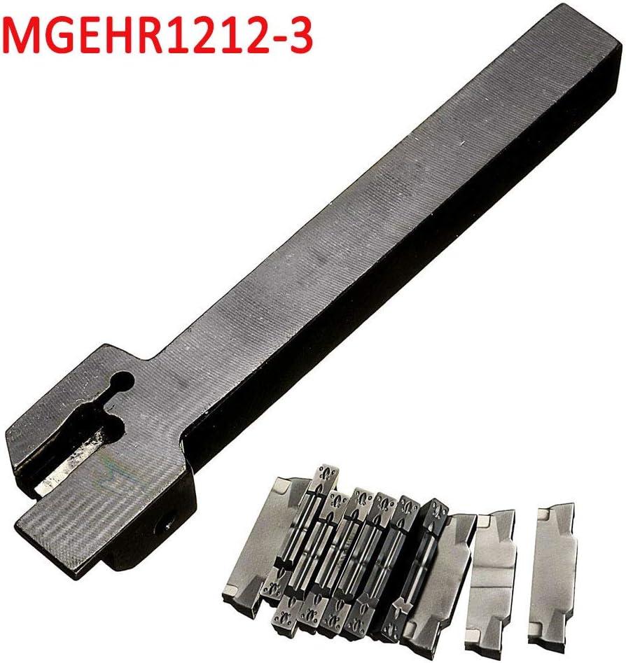 MGEHR1212-3 Drehmei/ßelhalter 10 x MGMN300 Einsatzmesser