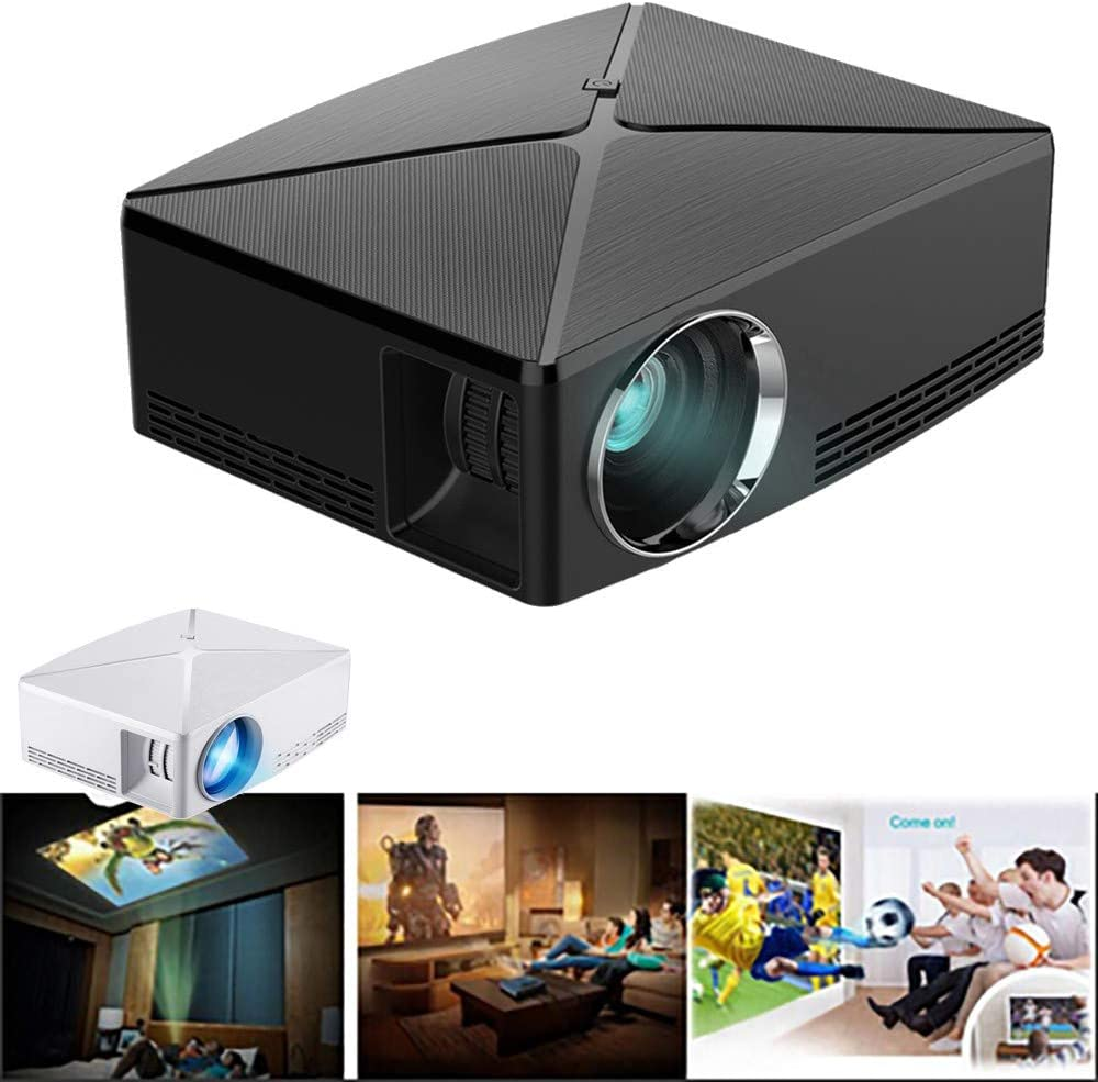 C80 1080P Full HD Mini proyector LED Multimedia de Cine en casa AV ...